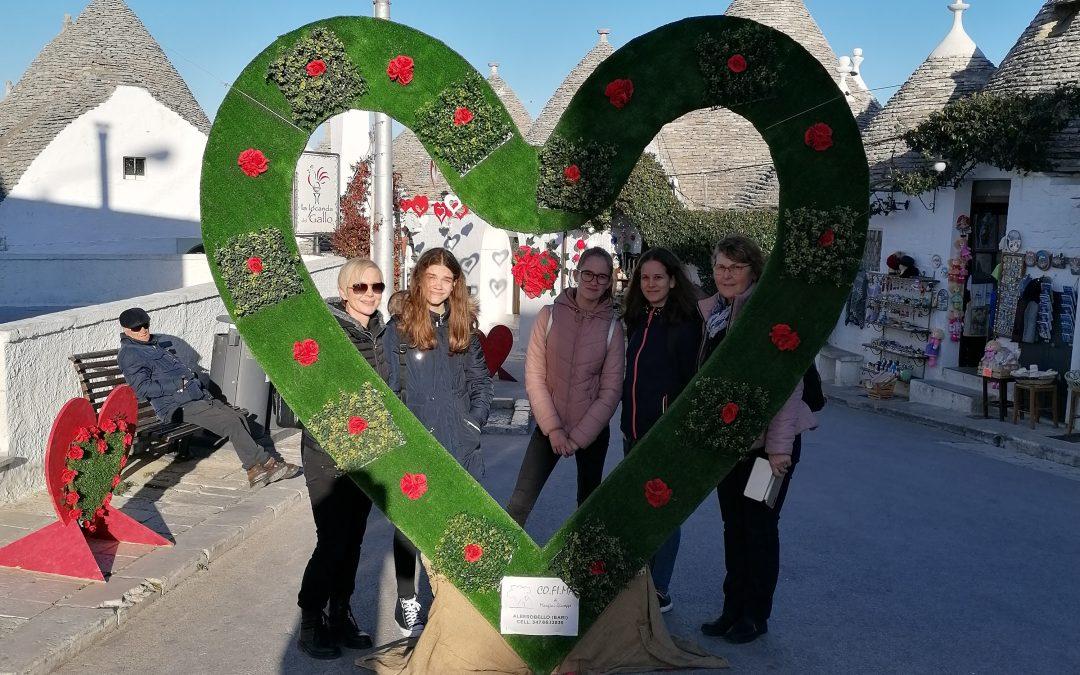 Mobilnost Erasmus+ HEART v Massafra 6. dan